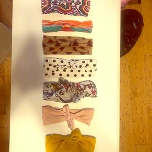 Other - Turban and top knot headbands